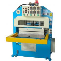 Heat Press Machine - This machine have two temperature device for examines the material temperature, when the temperature could not reach, the alarm sounded.