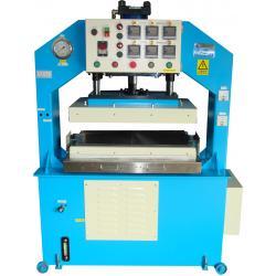 Heat Press Machine Heat platen of aluminum quick heating and have equilibrium temperature.