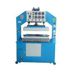 Heat Press Machine - This machine have one temperature device for examines the material temperature, when the temperature could not reach, the alarm sounded.