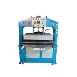 Heat transfer press machine - Double work-bench, highly efficient, allows two-people operation.
